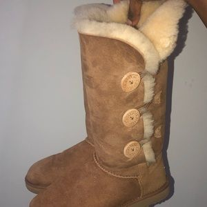 Triple Bailey Button UGG Boots